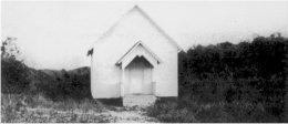 The first Chapel - 1892