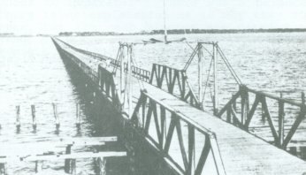Bridge over the Indian river